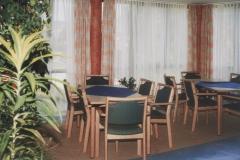 """""""Elisabethhaus - Aufenthaltsraum - 3 OG, Säulen rötlich gemalt"""""""
