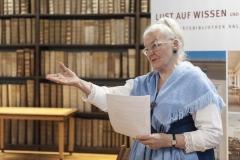 """""""Mag. Edda Mally heißt die Gäste willkommen"""""""