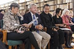 """""""Die Ehrengäste: Mr. Arthur Bemins und Gattin Linda - USA, Mr. Toshiya Hashimoto und Gattin Miwa - Japan, Mrs. Cheryl Spina Dudley - CA"""""""
