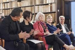"""Cheryl Spina Dudley und Jacqueline Rosadiuk - CA, Prof. Massimo Caiazzo - IT"""