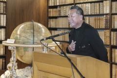 """""""Toshiya Hashimoto, Vorstand der IACC Japan, erzählt launige Episoden von der Zusammenarbeit mit Frank H. Mahnke"""""""