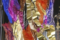 """Daphne Mosaik-Textilcollage"""
