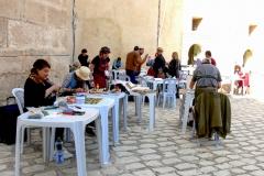 Im Hof des Archäologischen Museum 1